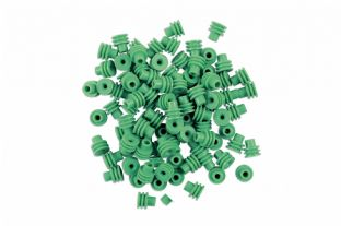 Connect 37334 100 Piece Weather Seal Green Terminal Cover From Delphi Kit